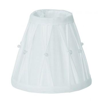 Абажур Eglo 1+1 Vintage 49959, белый, текстиль