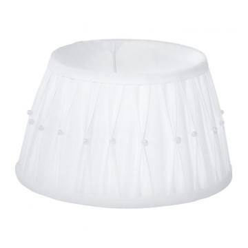 Абажур Eglo 1+1 Vintage 49961, белый, текстиль