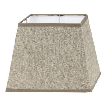 Абажур Eglo 1+1 Vintage 49974, коричневый, текстиль
