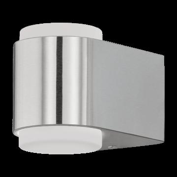 Настенный светодиодный светильник Eglo Briones 95079, IP44, LED 6W 3000K 1000lm, сталь, белый, металл, пластик
