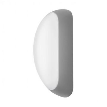Настенный светодиодный светильник Eglo Berson 95091, IP44, LED 5W, 3000K (теплый), белый, серебро, металл, пластик