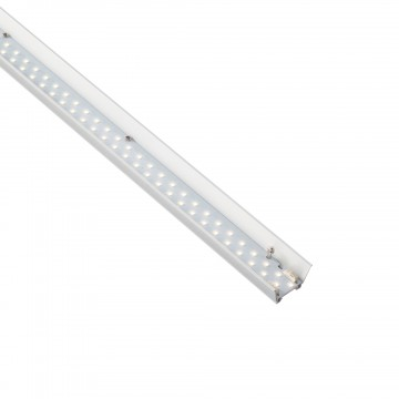 LED-модуль Ideal Lux FLUO MODULO STRIP LED 8W 3000K 12V 198668, LED 8W 3000K 900lm, белый, металл