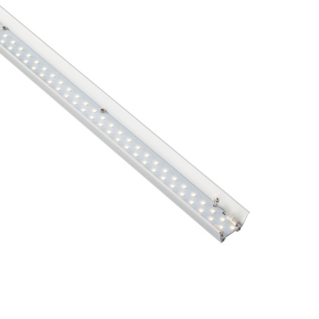 LED-модуль Ideal Lux FLUO MODULO STRIP LED 13W 4000K 48V 198712, LED 13W 4000K 1400lm, белый, металл