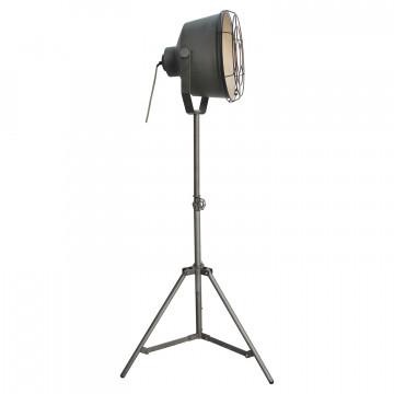 Торшер Lussole Loft Westminster LSP-9807, IP21, 1xE27x60W, серый, металл