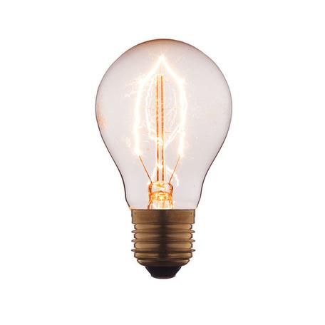 Лампа накаливания Loft It Edison Bulb 1001 груша E27 60W 220V, гарантия нет гарантии
