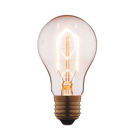Лампа накаливания Loft It Edison Bulb 1002 груша E27 60W 220V, гарантия нет гарантии