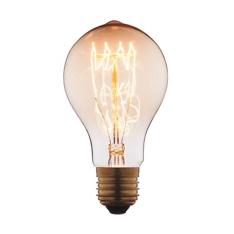 Лампа накаливания Loft It Edison Bulb 1003-SC груша E27 40W 220V, гарантия нет гарантии