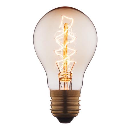 Лампа накаливания Loft It Edison Bulb 1004-C груша E27 60W 220V, гарантия нет гарантии