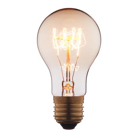 Лампа накаливания Loft It Edison Bulb 1004-SC груша E27 60W 220V, гарантия нет гарантии