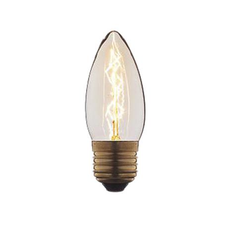 Лампа накаливания Loft It Edison Bulb 3540-E свеча E27 40W 220V, гарантия нет гарантии