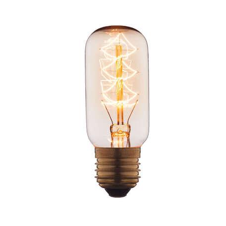 Лампа накаливания Loft It Edison Bulb 3840-S цилиндр малый E27 40W 220V, гарантия нет гарантии