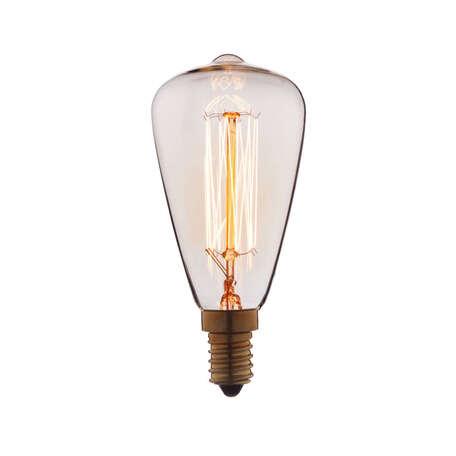 Лампа накаливания Loft It Edison Bulb 4860-F прямосторонняя груша E14 60W 220V, гарантия нет гарантии