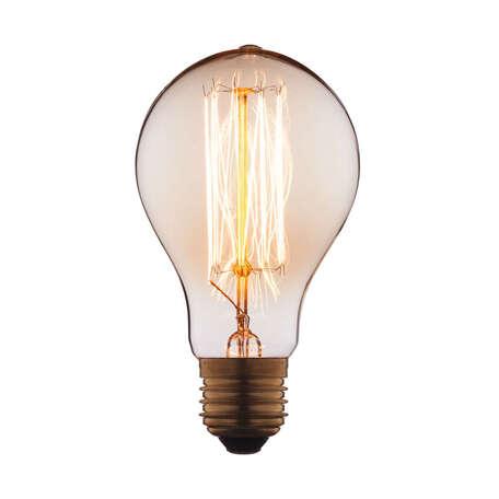 Лампа накаливания Loft It Edison Bulb 7560-SC груша E27 60W 220V, гарантия нет гарантии