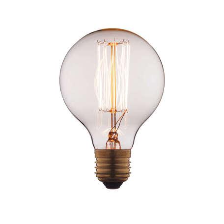 Лампа накаливания Loft It Edison Bulb G8060 шар малый E27 60W 220V, гарантия нет гарантии