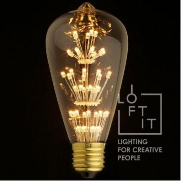 Светодиодная лампа Loft It ST64-47LED, гарантия 1 год