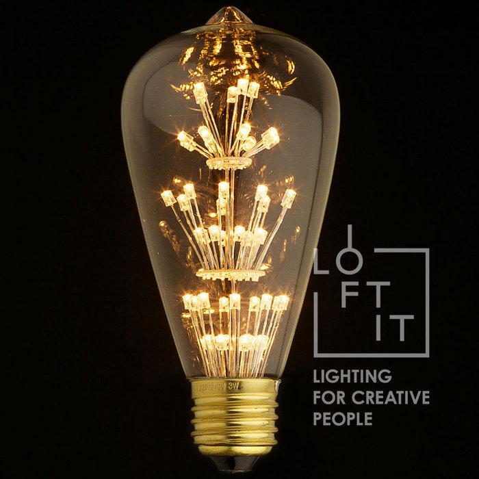 Светодиодная лампа Loft It ST64-47LED, гарантия 1 год - фото 1