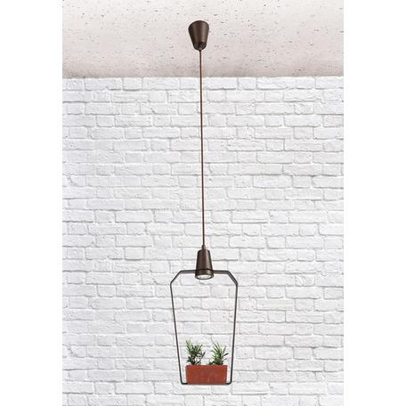 Подвесной светильник Loft It Ceramic 6951/1В, 1xG5.3x5W, коричневый, металл, керамика