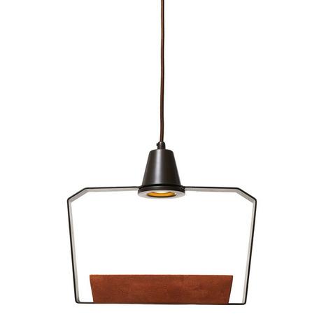 Подвесной светильник Loft It Ceramic 6951/2В, 1xG5.3x5W, коричневый, металл, керамика