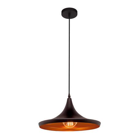 Подвесной светильник Loft It Beat LOFT1843/B, 1xE27x60W, черный, металл