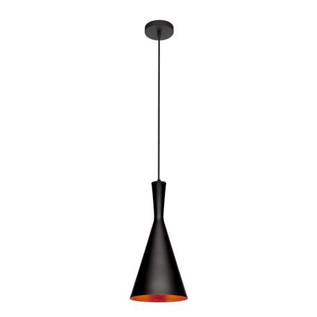 Подвесной светильник Loft It Beat LOFT1843/C, 1xE27x60W, черный, металл