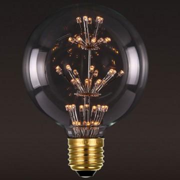 Светодиодная лампа Loft It Edison Bulb G12547LED шар E27 3W 220V, гарантия 1 год