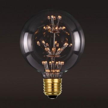 Светодиодная лампа Loft It Edison Bulb G8047LED шар E27 3W 220V, гарантия 1 год