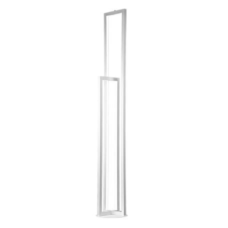 Светодиодный торшер Citilux Дефанс CL804010, LED 36W 4000K, белый, металл