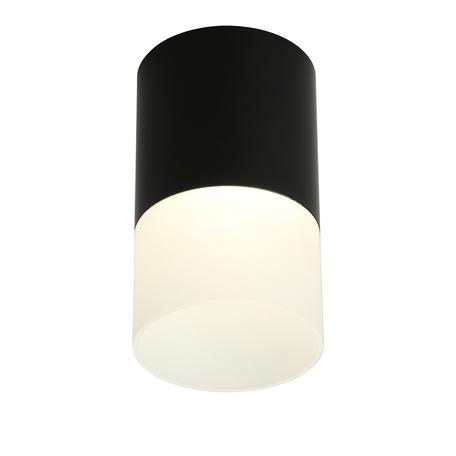 Светодиодный светильник Omnilux Ercolano OML-100019-05, LED 5W 4000K 275lm, черный с белым, металл с пластиком
