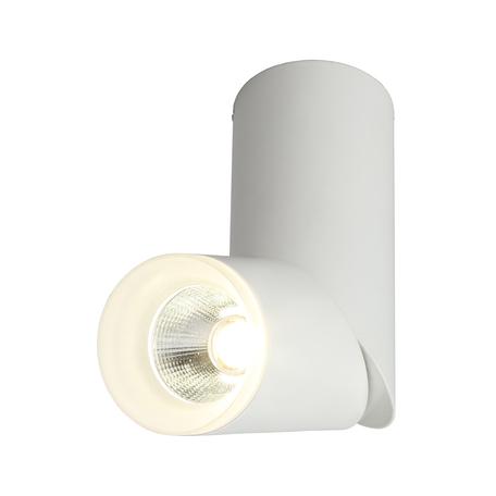 Светодиодный светильник Omnilux Ultimo OML-100209-10, LED 10W 4000K 550lm, белый, металл, металл с пластиком