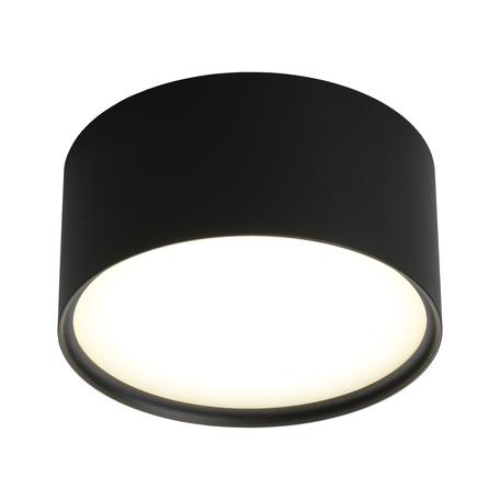 Светодиодный светильник Omnilux Salentino OML-100919-12, LED 12W 4000K 660lm, черный с белым, металл с пластиком