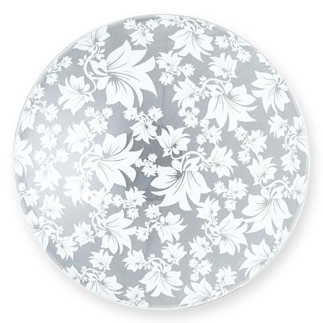 Потолочный светильник Toplight Primrose TL9062Y-03WH, 3xE27x60W, хром, белый, металл, стекло