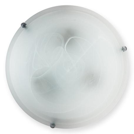 Потолочный светильник Toplight Irma TL9072Y-03WH, 3xE27x60W, хром, серый с белым, металл, стекло