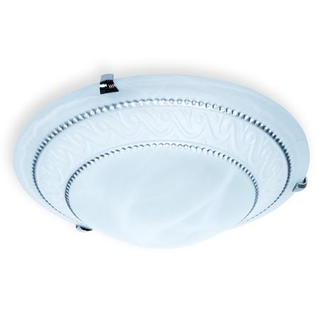 Потолочный светильник Toplight Elizabeth TL9091Y-02TР, 2xE27x60W, хром, белый, металл, стекло