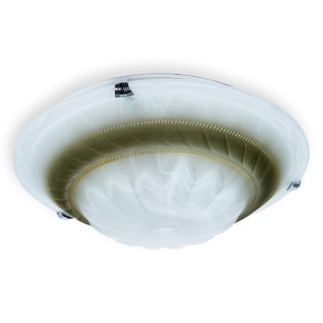 Потолочный светильник Toplight Clare TL9101Y-02BR, 2xE27x60W, хром, коричневый, металл, стекло