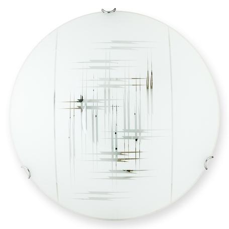 Потолочный светильник Toplight Zier TL9152Y-02WH, 2xE27x60W, хром, белый, металл, стекло