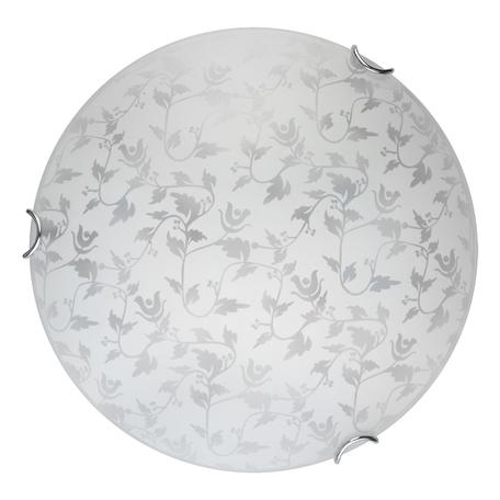 Потолочный светодиодный светильник Toplight Beatrice TL9280Y-00WH, LED 15W, хром, белый, металл, стекло