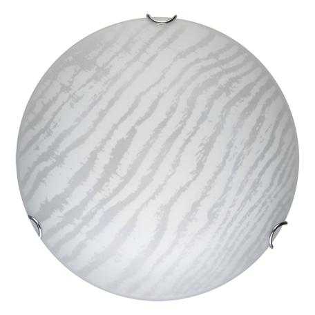 Потолочный светодиодный светильник Toplight Calista TL9491Y-00WH, LED 18W, хром, белый, металл, стекло