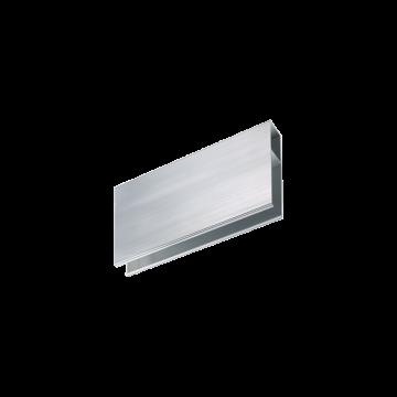 Прямой соединитель для модульной системы Ideal Lux Linus Connettore 241982, хром, металл