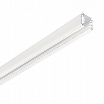 Шинопровод Ideal Lux Link Trimless Profile 243269, белый, металл