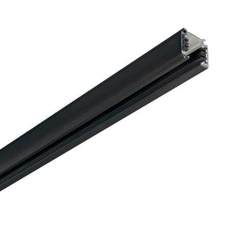 Шинопровод Ideal Lux Link Trimless Profile 246451, черный, металл