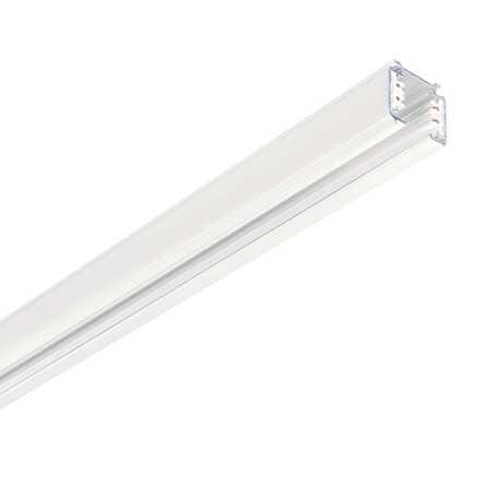 Шинопровод Ideal Lux Link Trimless Profile 246468, белый, металл
