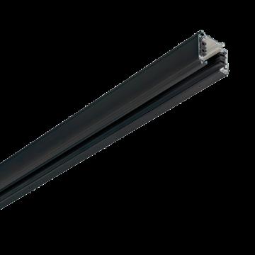Шинопровод Ideal Lux Link Trimless Profile 246901, черный, металл