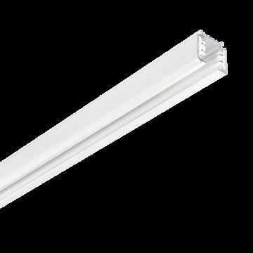 Шинопровод Ideal Lux Link Trimless Profile 247625, белый, металл