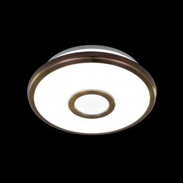 Потолочный светодиодный светильник Citilux Старлайт CL70313, IP44, LED 12W 3000K 800lm, белый, бронза, металл, металл с пластиком - миниатюра 2