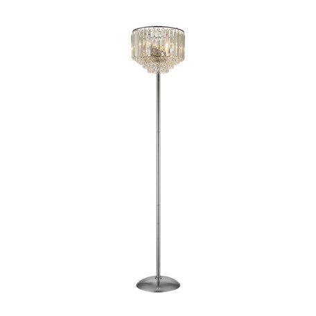 Торшер Citilux Синди CL330931, 3xE14x60W, хром, прозрачный, металл, хрусталь