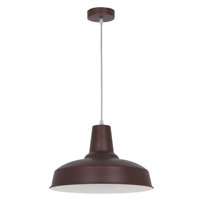 Подвесной светильник Odeon Light Classic Bits 3363/1, 1xE27x60W, коричневый, металл - фото 1