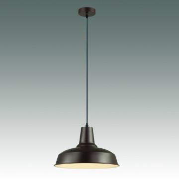 Подвесной светильник Odeon Light Classic Bits 3363/1, 1xE27x60W, коричневый, металл - миниатюра 2