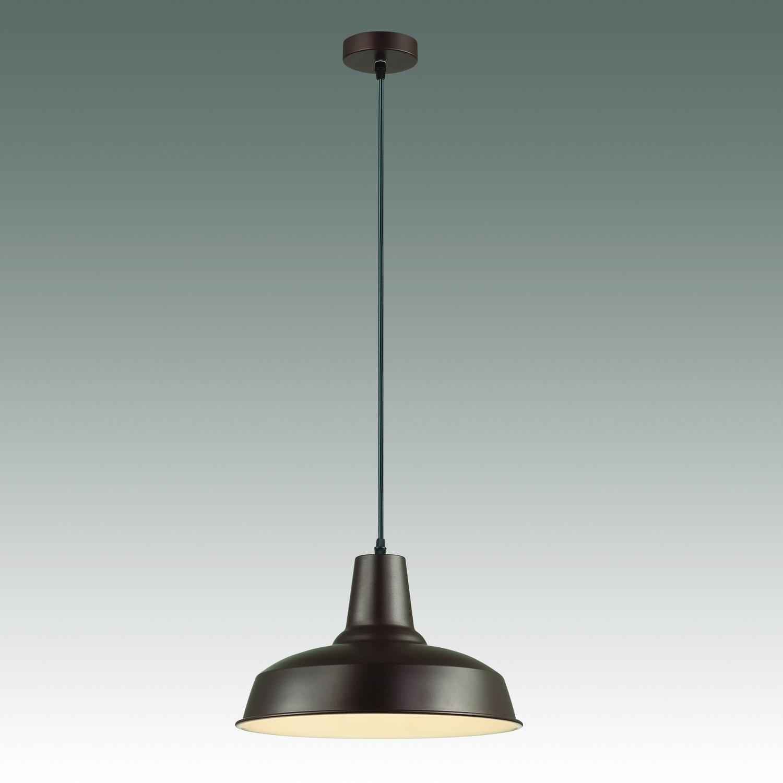 Подвесной светильник Odeon Light Classic Bits 3363/1, 1xE27x60W, коричневый, металл - фото 2