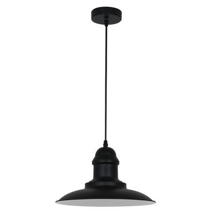 Подвесной светильник Odeon Light Pendant Mert 3375/1, 1xE27x60W, черный, металл
