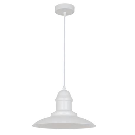 Подвесной светильник Odeon Light Mert 3376/1, 1xE27x60W, белый, металл